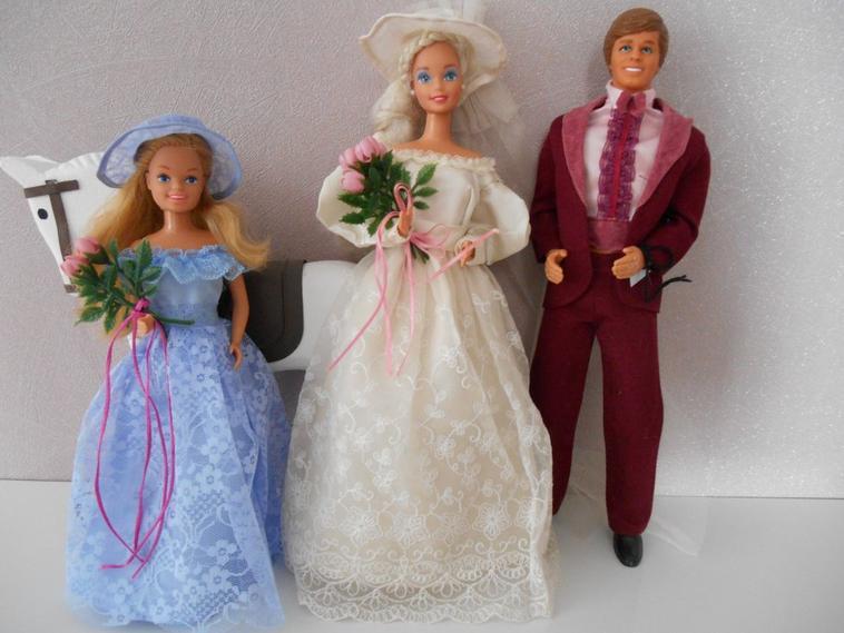 TENUES ROMANIQUE WEDDING 1986