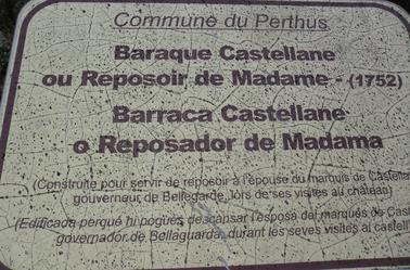 LE PERTHUS ET LE FORT DE BELLEGARDE (département 66 Pyrénées Orientales)