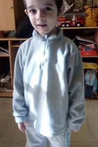 Mon petit David.