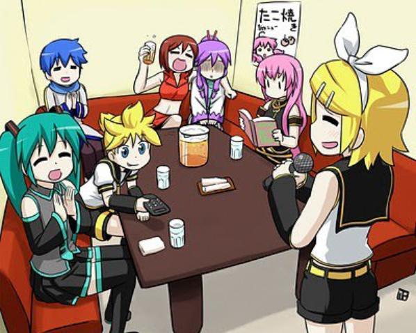 Vocaloid's Karaoke c: