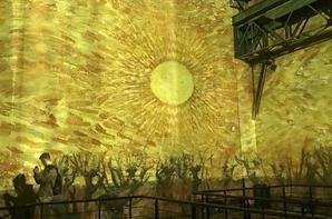 VAN GOGH - La nuit  étoilée - Van Gogh dans sa lumiere -