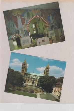 Pour mon amie Nicole .Visite de Pecs lors de mon séjour en Hongrie -Sept 1998 -