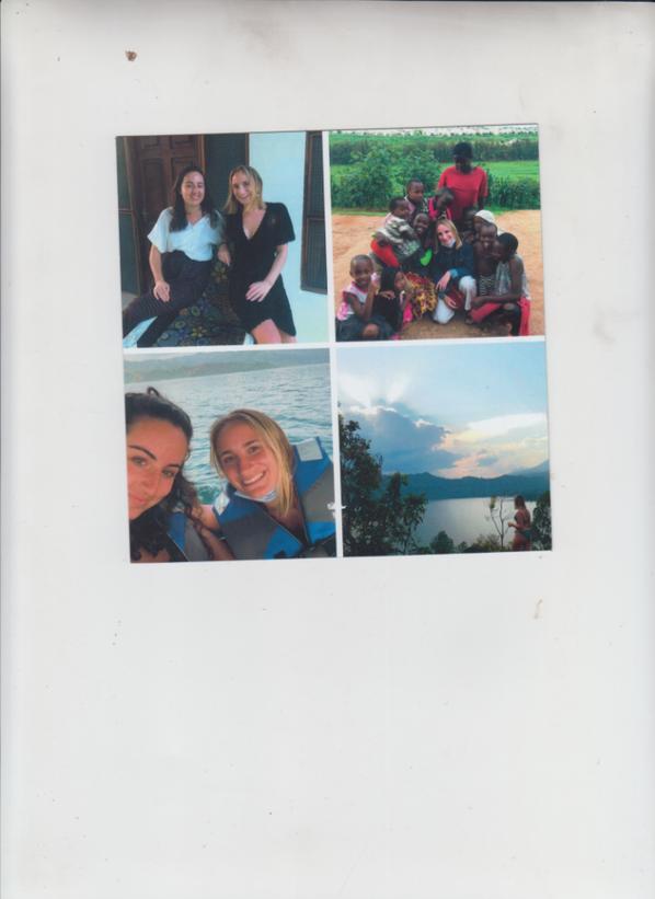 Suite photos du Rwanda de ma petite fille Lisa qui a son anni. aujourd'hui. Nous lui offrons la visite d'un parc national consacré aux gorilles les fameux Dos Gris ...
