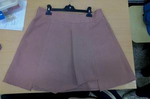 Ma jupe faite a l'école :)