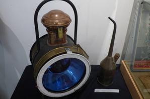 Quelques objets présentés à l'exposition Trains en Pays d'Ouche à L'Aigle