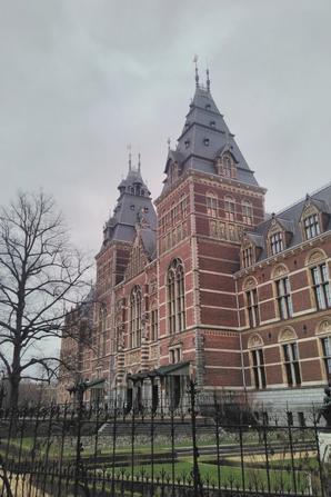 Que je vous raconte ce séjour à Amstredam, quand même.
