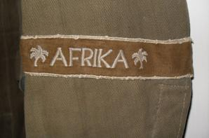 Nouvelle acquisition : DAK ( Deutsches Afrikakorps ) PANZER Tunic.
