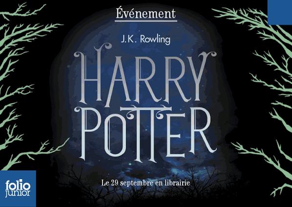 le coffret des livres de poche Harry Potter (nouvelles couvertures)