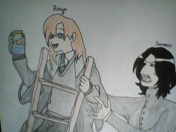 Severus X Arya ( OC )