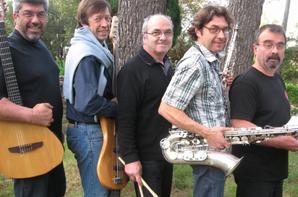 """Lily Jazz Quintet """"soutien l'association GISC """"Reservoir d'Artistes"""