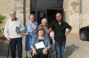 """PROJET/ J'AIME MA CITE DE CARCASSONNE """"Korian le Bastion """"sortie à la cité et à pucheric """"Forum bien vieillir le Jeudi 26 Septembre 2013"""