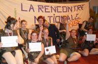 """L'ASSOCIATION GISC FAN DU DU SPECTACLE HANDI DANSE  AU DOME a carcassonne : """"FORMIDABLE TOUS LES ACTEURS :lakhdar"""