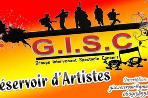 Madak : Intervenant du  GISC /RESERVOIR D'ARTISTES  :ORGANISATEUR LE  MOTO CLUB THE FREEDOM  A RIEUX MINERVOIS LE SAMEDI 06 DECEMBRE 2014