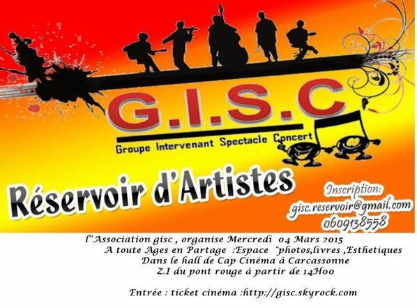 GISC en partenariat avec Le Centre « CYBELE » est heureux de vous accueillir et de vous maquiller dans le hall de Cap Cinéma