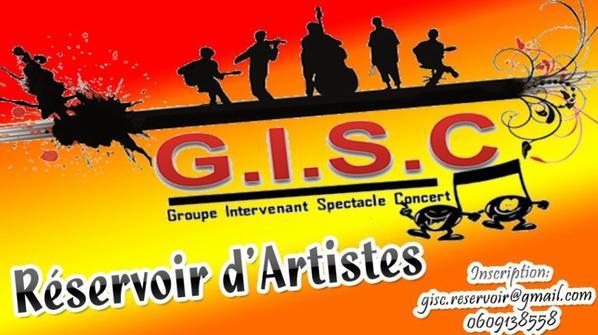 Carte blanche aux artistes du GISC Samedi 11 Avril à 21h - Chapeau Rouge, 37 rue Trivalle