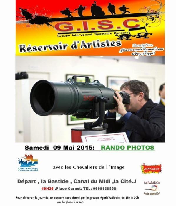 Concert  le groupe Agath'Mélodie, de 18h à 20h sur la place Carnot à Carcassonne .Samedi 09 Mai 2015