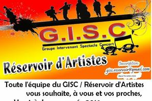 10 ANS du  GISC  Ça se fête 2016 / Information et Inscription gisc 2016 : Samedi 16  janvier 2016 à partir de 18H00   Zi du pont rouge, dans le hall  Du  cap cinéma