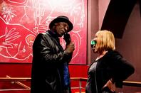 L'association gisc  à roganisé le festival Slam : Concert Aimé Nouma  au chapeau rouge