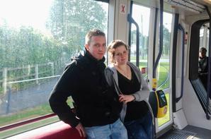 Dans le train :)