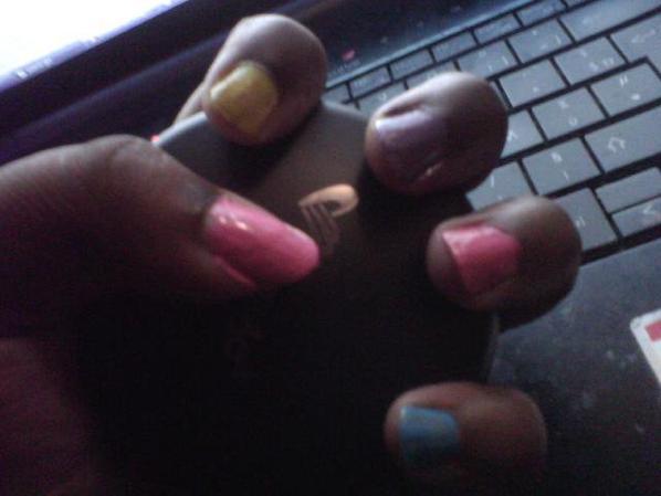 nail color inspirer Nishiuchi Mariya(drama switch girl)