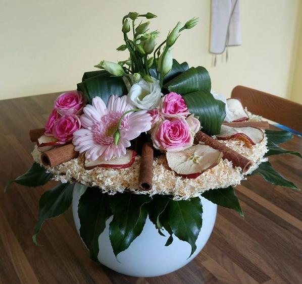 bouquet tout en douceur