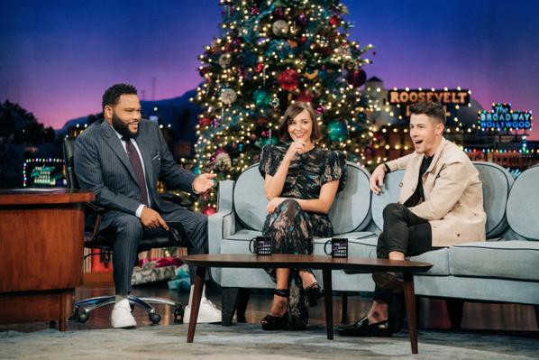 _ 11.12.2019 | Nick était dans l'émission_The Late Late Show With James Corden_:
