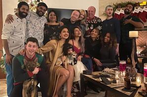 _ 25.12.2019 | Nick a passé Noël avec la famille Chopra :