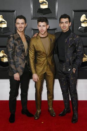 _ 26.01.2020 | Les Jonas ont participés à la 62ème cérémonie des Grammy's Awards à Los Angeles :