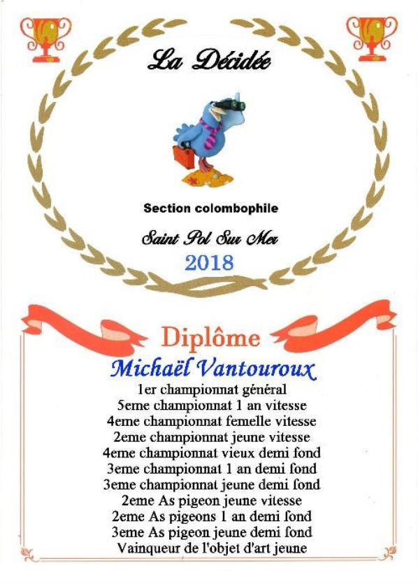 27 Michael VANTOUROUX