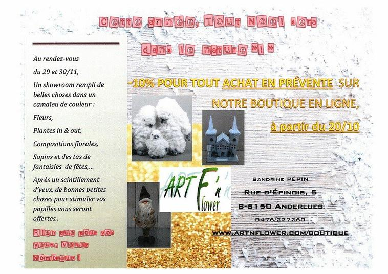 EXPO_VENTE DE NOEL LES 29 et 30 NOVEMBRE