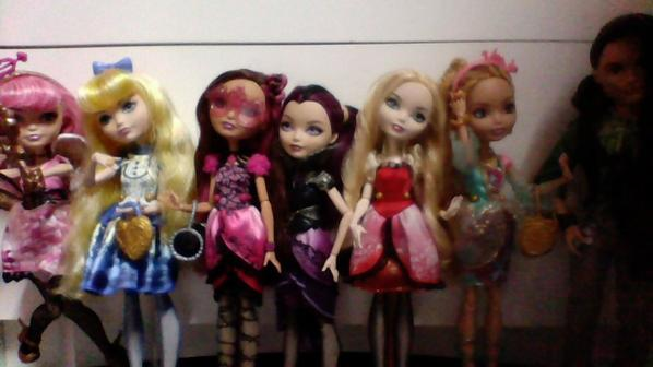 Ma collection de poupées Ever After High