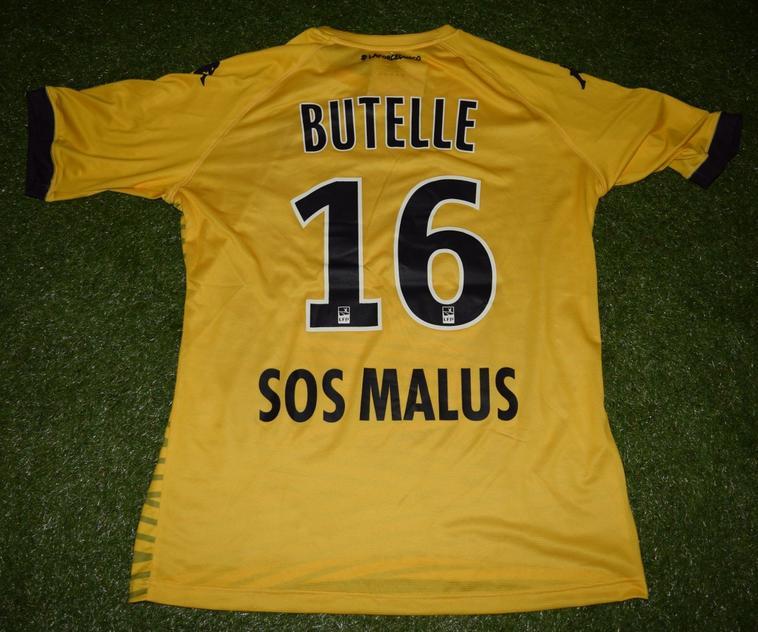 """Maillot Gardien Sponsor """"Le Collectif"""" 2018-2019 de Ludovic Butelle"""