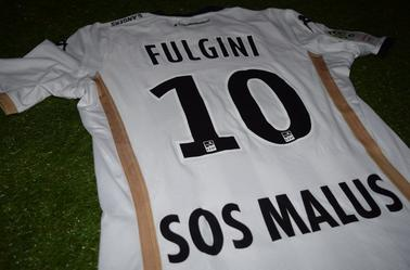 "Maillot Domicile Sponsor ""Le Collectif"" 2018-2019 d'Angelo Fulgini"