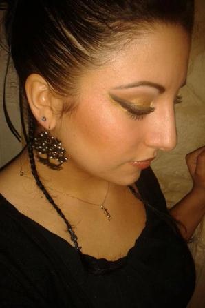 Make up , Hair,Modèle, Photo by me