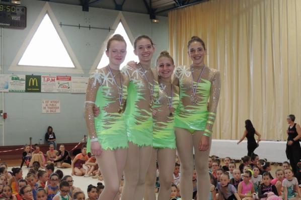 Compétition régionale à Lorette le 7 mai 2017