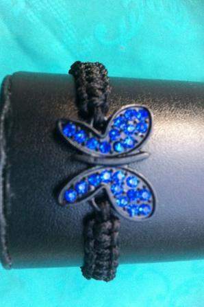 Shamballa clef de sol/ trèfle ou papillon