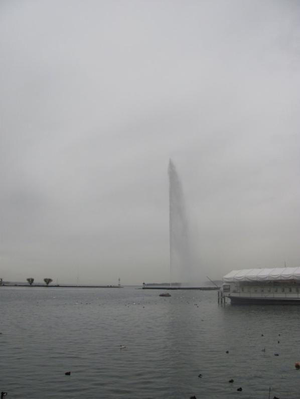 Nuageux sur Genève