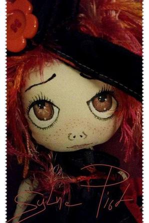 réalisation de ma première poupée chiffon, le début d'une belle aventure !!!!