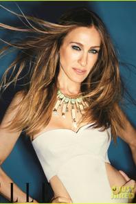 Sarah Jessica Parker Covers 'Elle' November 2012