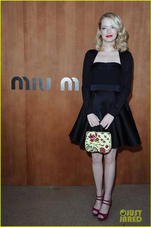 Miu Miu Fashion Show!
