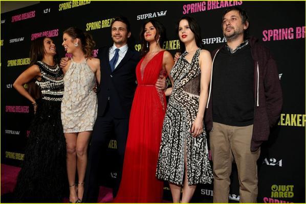'Spring Breakers' Hollywood Premiere
