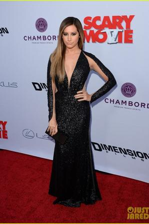 Ashley Tisdale: 'Scary Movie 5' Premiere!
