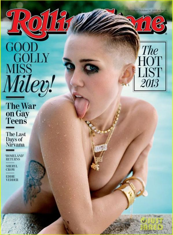 Miley Cyrus: Topless for Rolling Stone's Latest Issue!