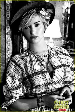 Demi Lovato Covers 'Teen Vogue' November 2013