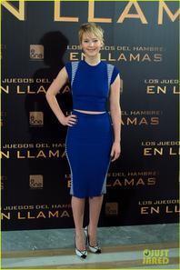 Jennifer Lawrence & Liam Hemsworth: 'Catching Fire' Madrid Photo Call
