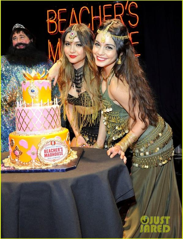 Vanessa Hudgens: Stella's Birthday Party at Beacher's Madhouse!