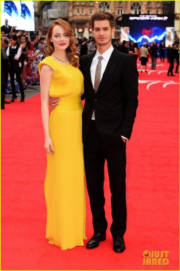 Emma Stone & Andrew Garfield  'Amazing Spider-Man 2' World Premiere!