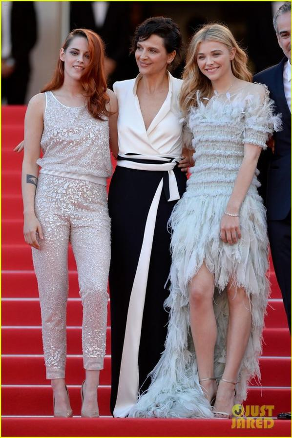 Kristen Stewart & Chloe Moretz Are Chanel Chic at Cannes 'Sils Maria' Premiere