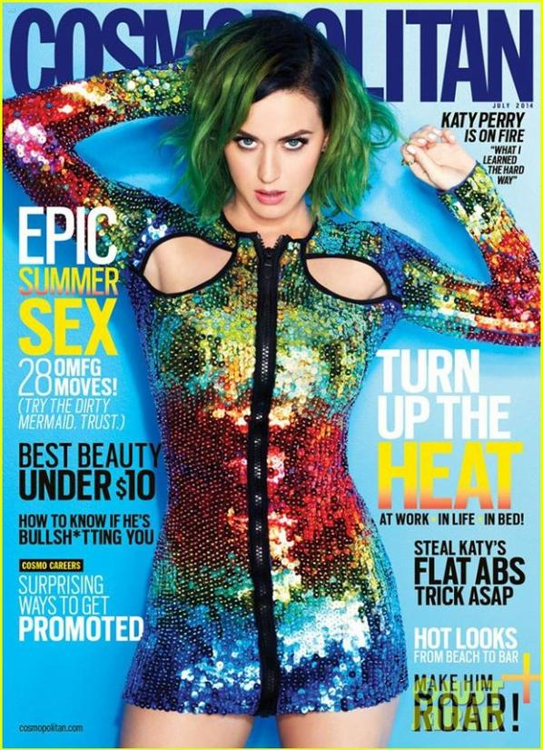 Katy Perry Covers Cosmopolitan July 2014