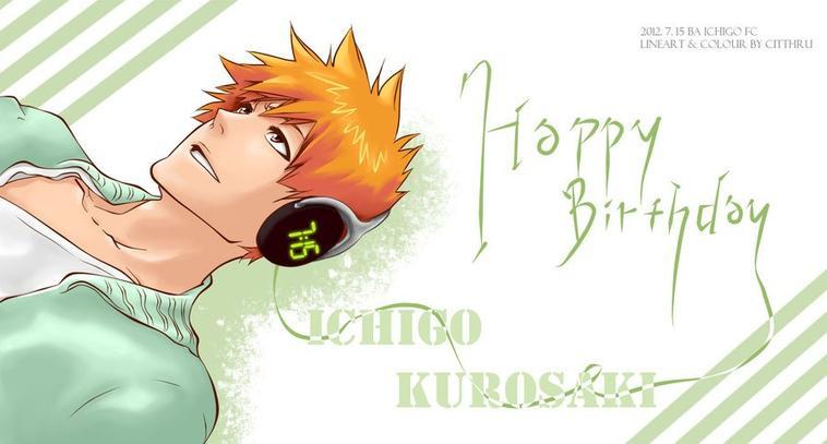 Happy Birthday Ichi ♥♥♥